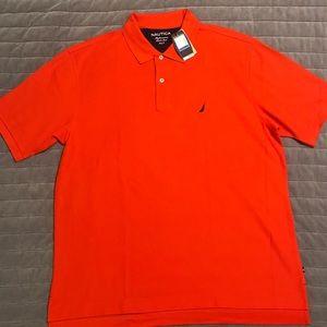 Nautica Bright Orange Polo ⛵️